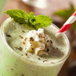 Smoothie choco-menthe