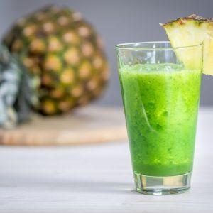 Recette de smoothie «verdure colada»