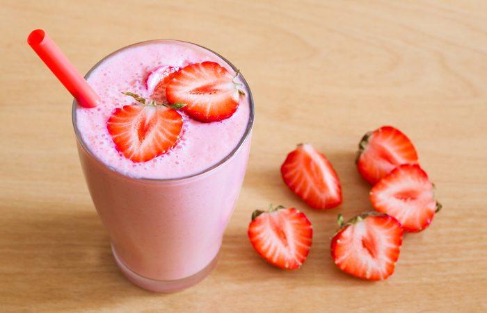 Un smoothie riche en vitamine C pour stimuler l'entrainement