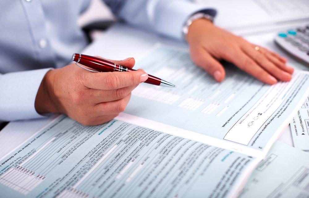 Vérification d'impôts