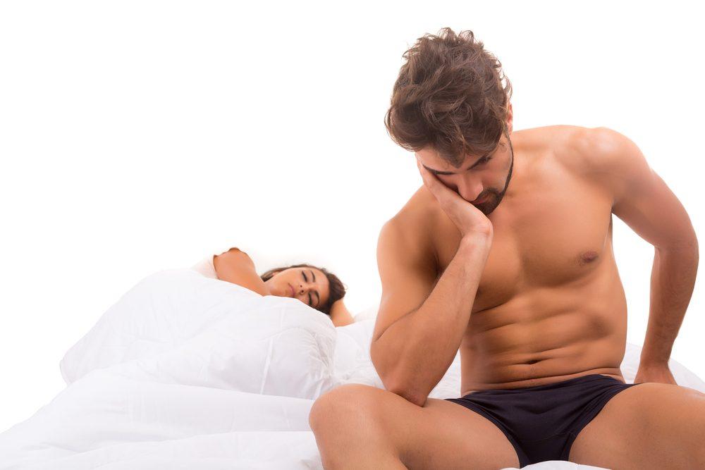 Les hommes refusent le sexe lorsqu'ils souffrent de dépression.
