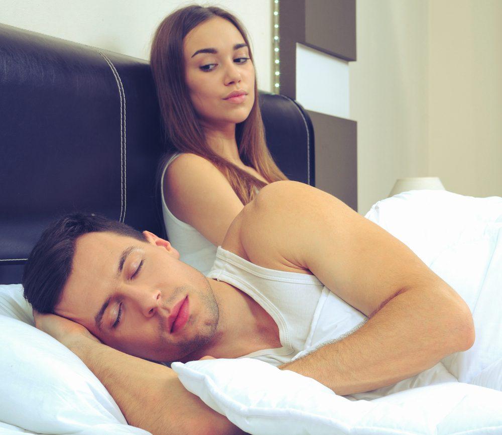 Les hommes refusent de faire l'amour car leur taux de testostérone est bas.