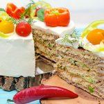 Gâteau à la viande