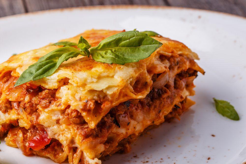 Une recette de lasagne traditionnelle
