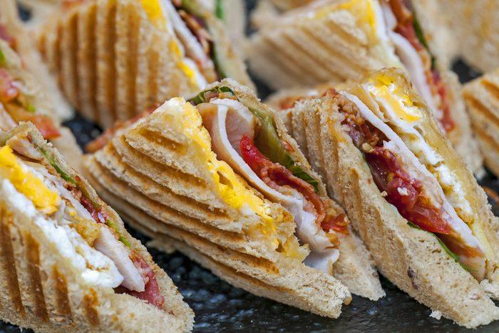 Une recette de sandwich avec polenta