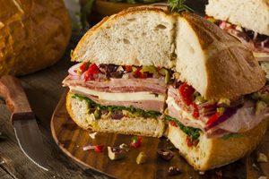 Sandwich muffuletta