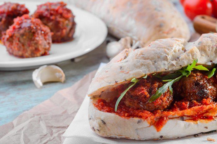 Une recette de sandwich à l'italienne
