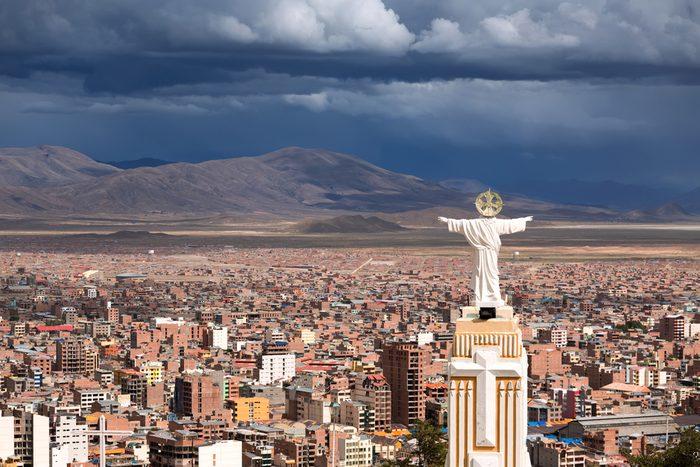 Voyager en Bolivie est très économique.
