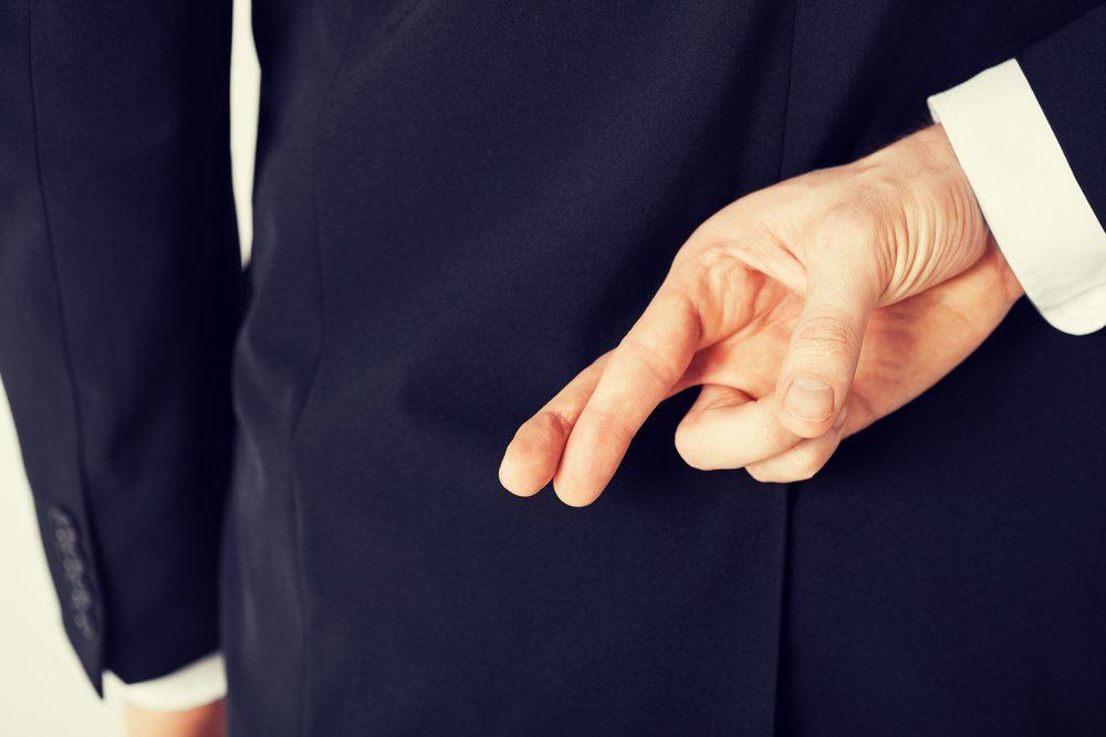 Erreur en entrevue: mentir ou exagérer.