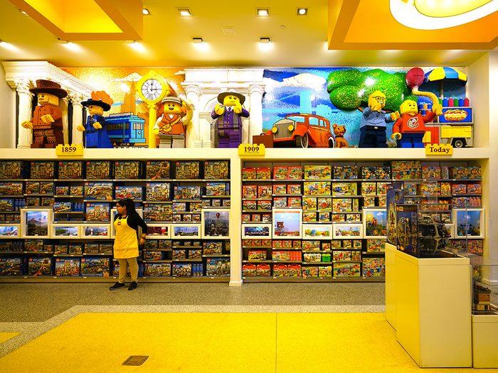 Le magasin Lego au Rockefeller Center est l'une des attractions à faire à New York.