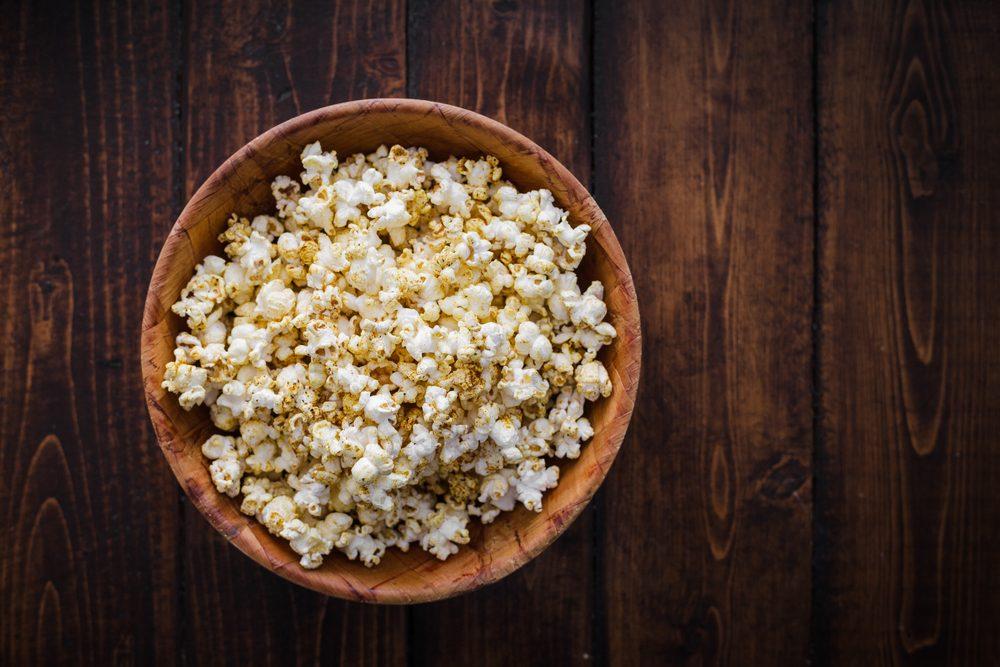 Autre vertu du popcorn: le maïs soufflé est riche en antioxydants.