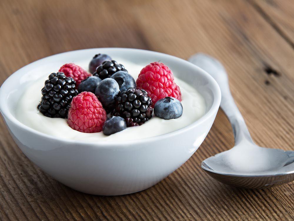 Des nutriments essentiels comme le phosphore aide à maintenir vos os en santé.