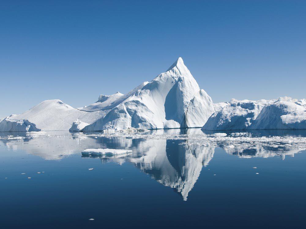 L'arctique, une destination incontournable, risque de disparaitre.