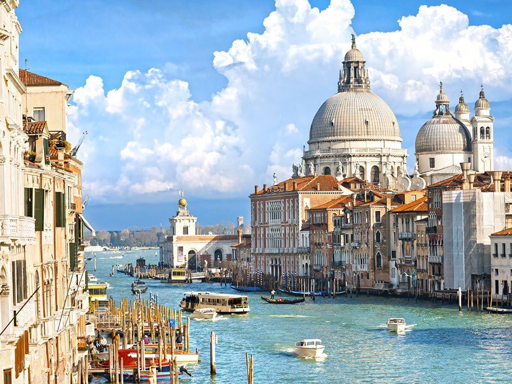 Venise, une destination incontournable, est en train de couler.
