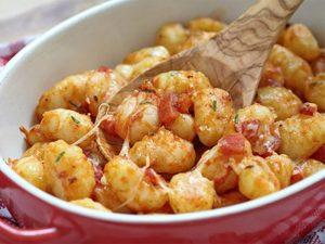 Gnocchis sauce rosée