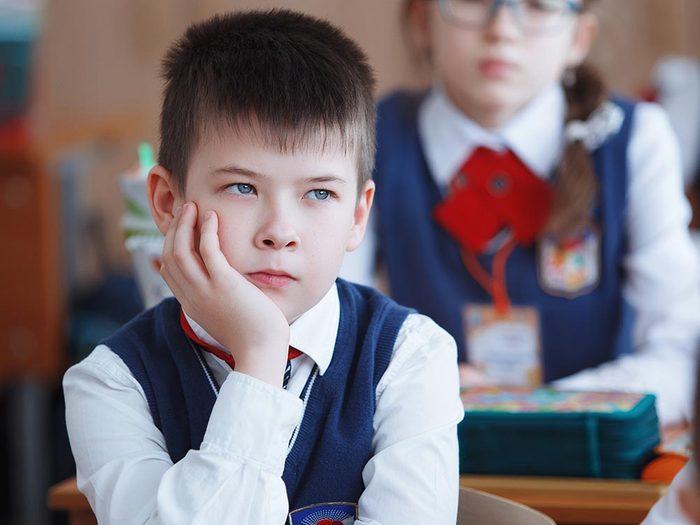 Voici le calendrier scolaire en Russie.