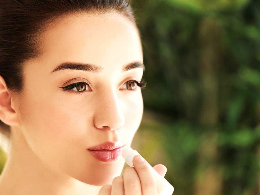 N'oubliez pas de mettre de la crème solaire sur vos lèvres.