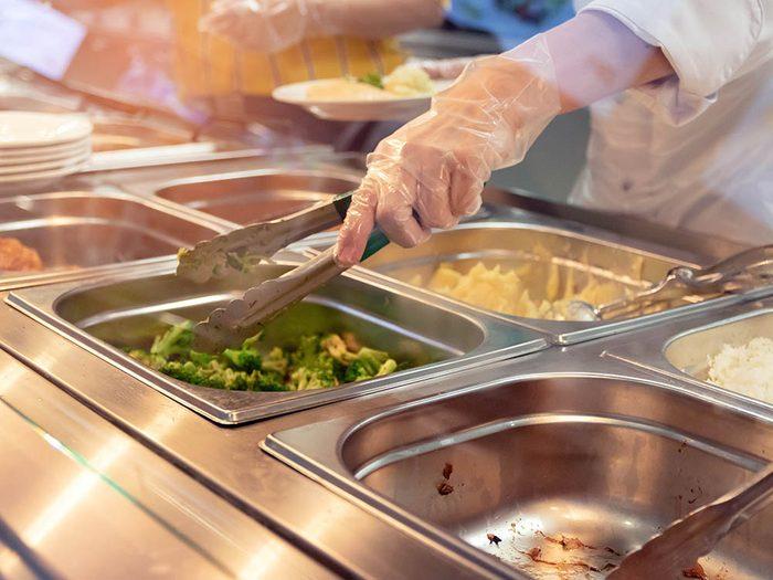 Les écoles italiennes servent souvent des repas biologiques.