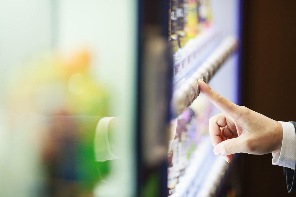 Évitez la machine distributrice pour maigrir au travail.