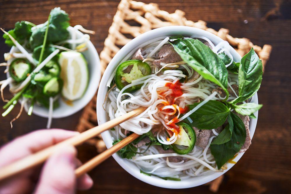 Prenez une soupe pour maigrir au travail.