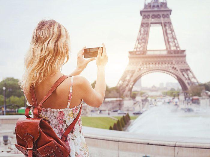 Evitez la foule en arrivant tôt ou tard sur les lieux touristiques.