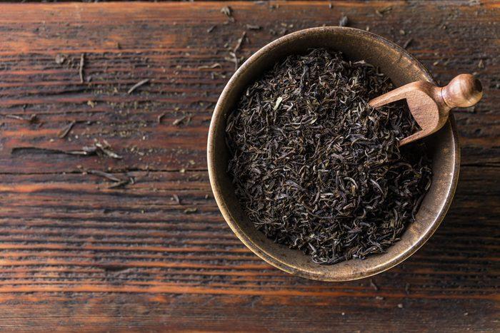 Si vous souffrez de diarrhée, buvez du thé noir.