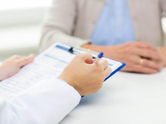 Endométriose: il est difficile d'établir un diagnostic de la maladie.