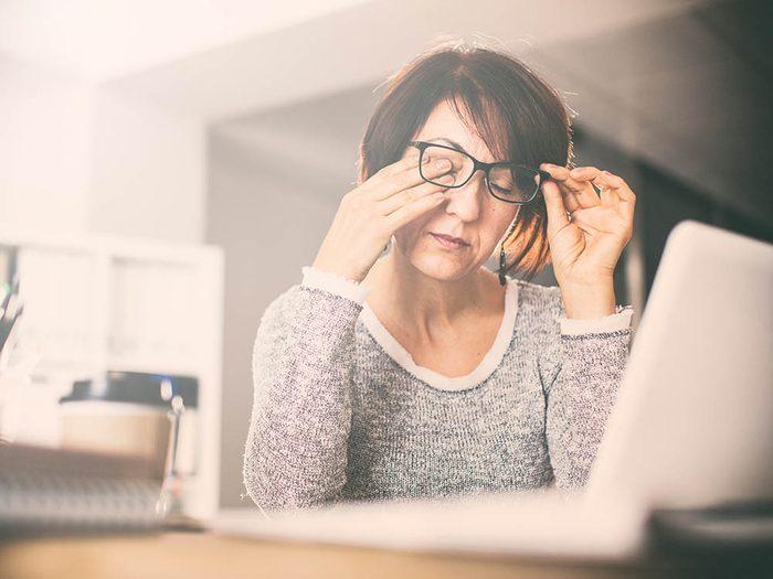La fatigue peut-être un symptôme d'endométriose.