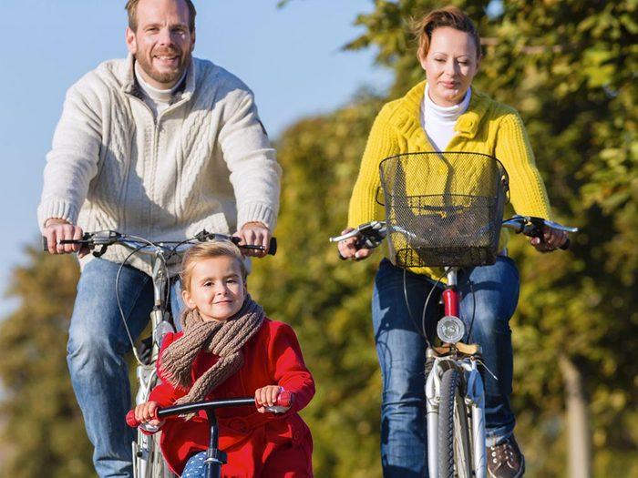 Sport en famille: amusez-vous!