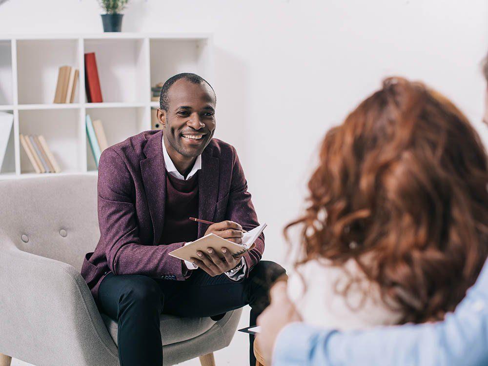Votre psychologue aimerait vous dire que les thérapies sont parfois rapides.