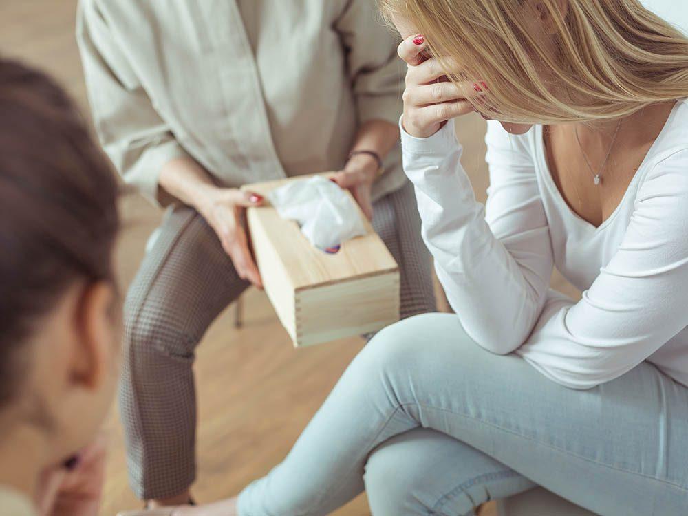 Un psychologue aime prendre soin de ses patients.