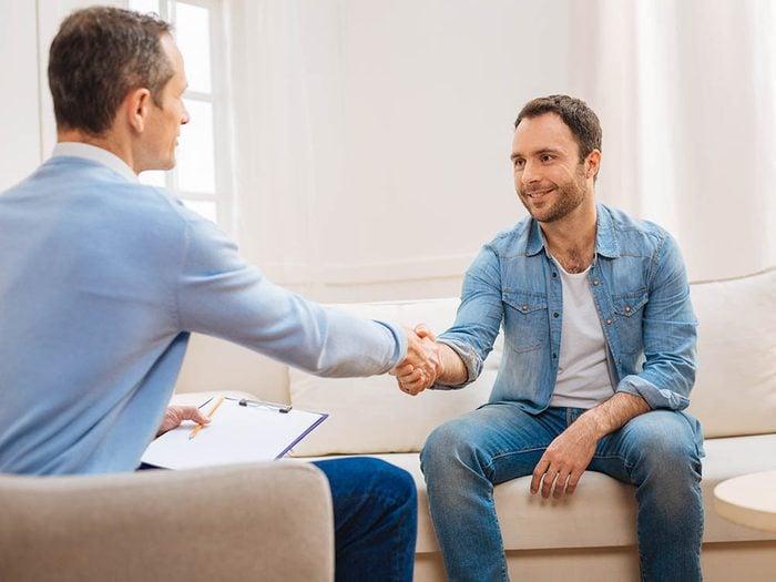 Votre psychologue souhaitera peut être vous référer à un collègue pour obtenir une seconde opinion.