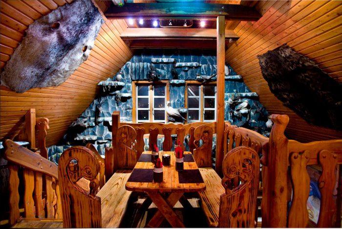 Le bizarre hôtel Viking