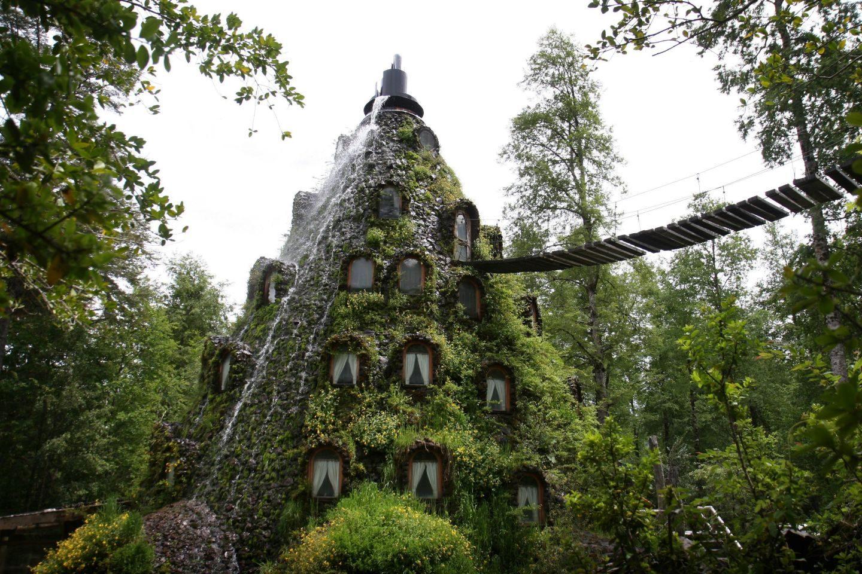 L'étrange Montaña Mágica Lodge