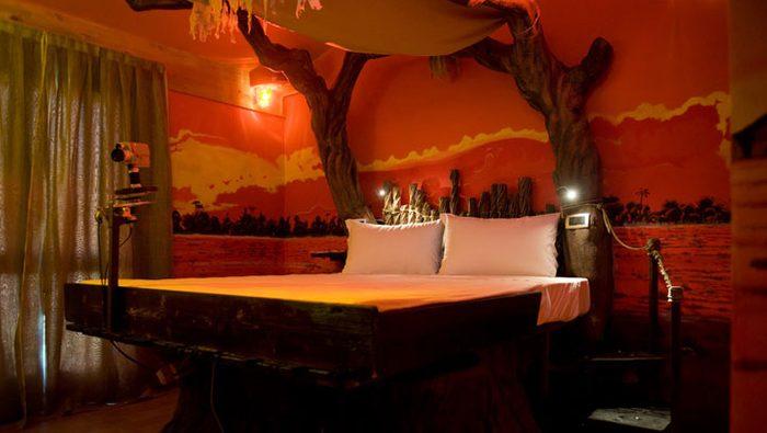 L'hôtel bizarre Parchi Del Garda
