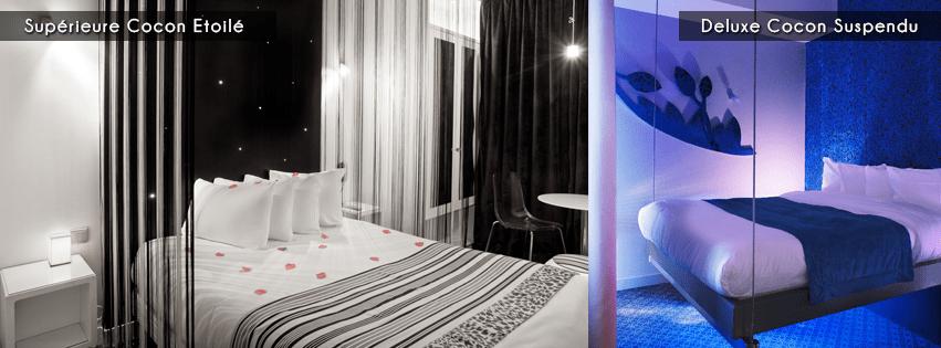 Un hôtel bizarre à Paris