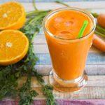 Smoothie carotte et gingembre