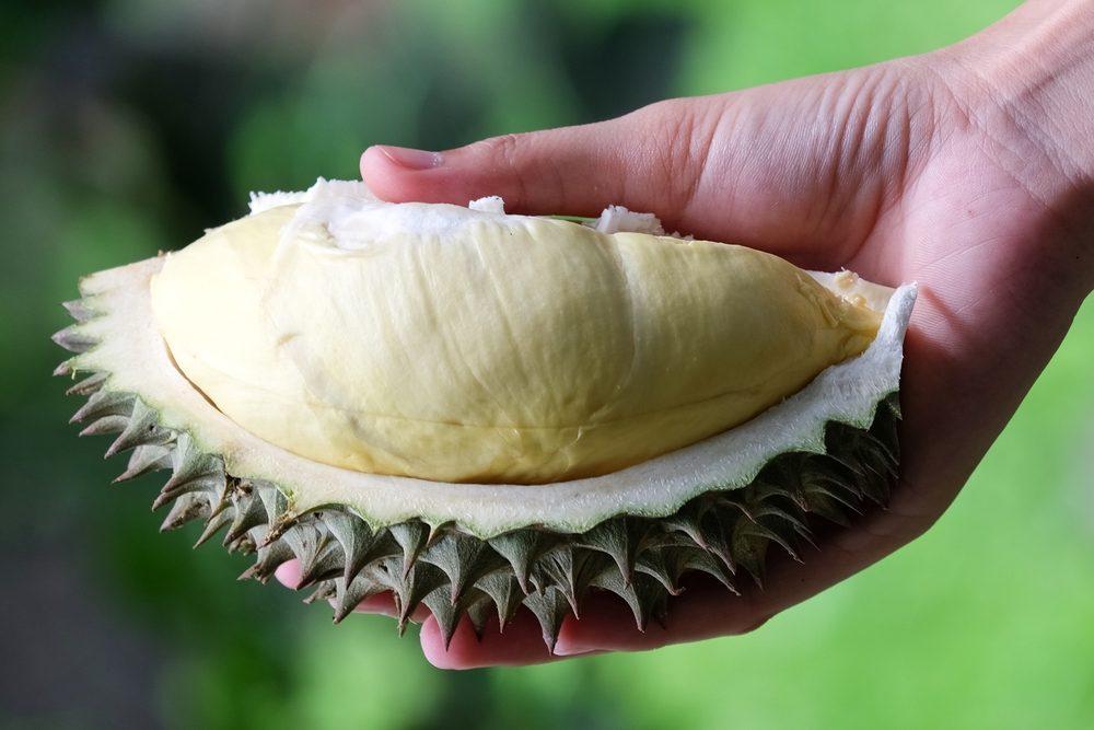 Un aliment étrange, le durian