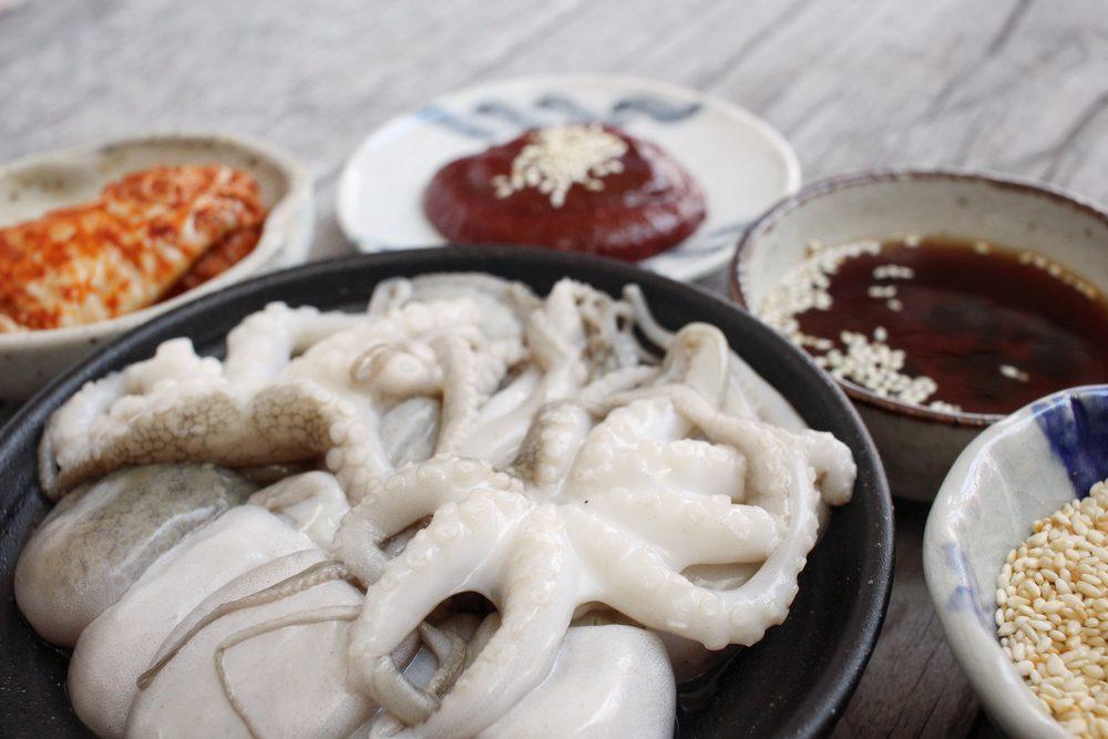 Un des aliments les plus étranges, le sannakji