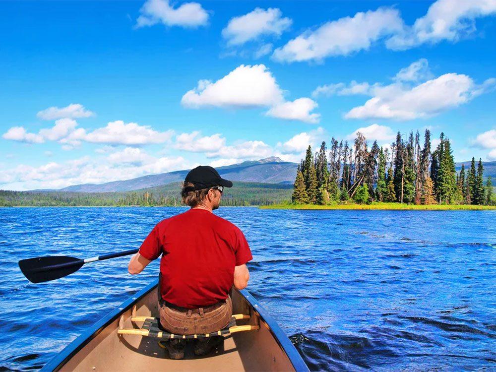 Il y a trois millions de lacs au Canada!