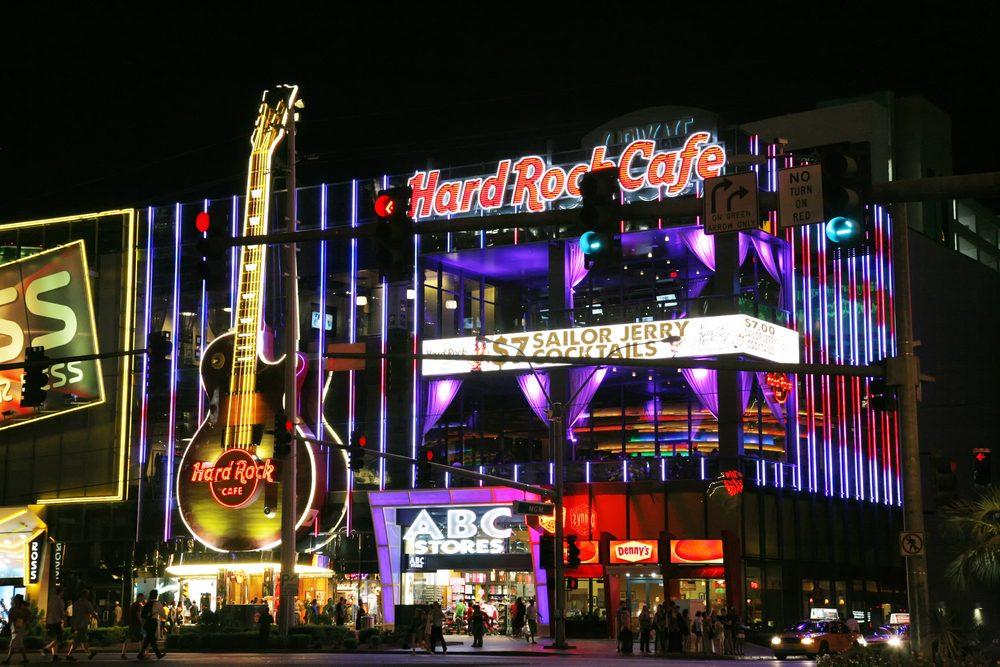 Les hôtels Hard Rock offrent cette chose étonnante