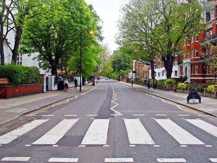 Abbey Road est l'une des rues les plus populaires au monde.