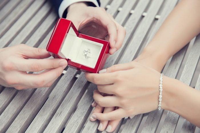 Un service étonnant de proposition en mariage