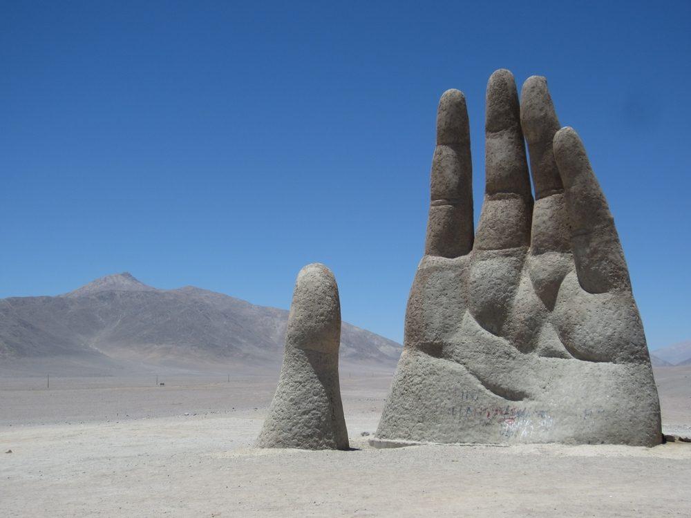 Une attraction touristique bizarre au Chili