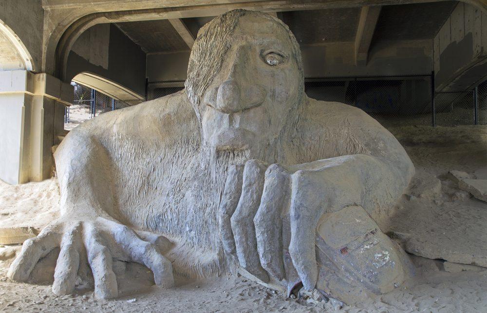 Le Fremont Troll est une attraction touristique bizarre