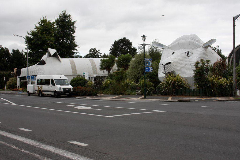 Une attraction touristique bizarre en Nouvelle-Zélande