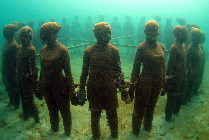 Une attraction touristique bizarre