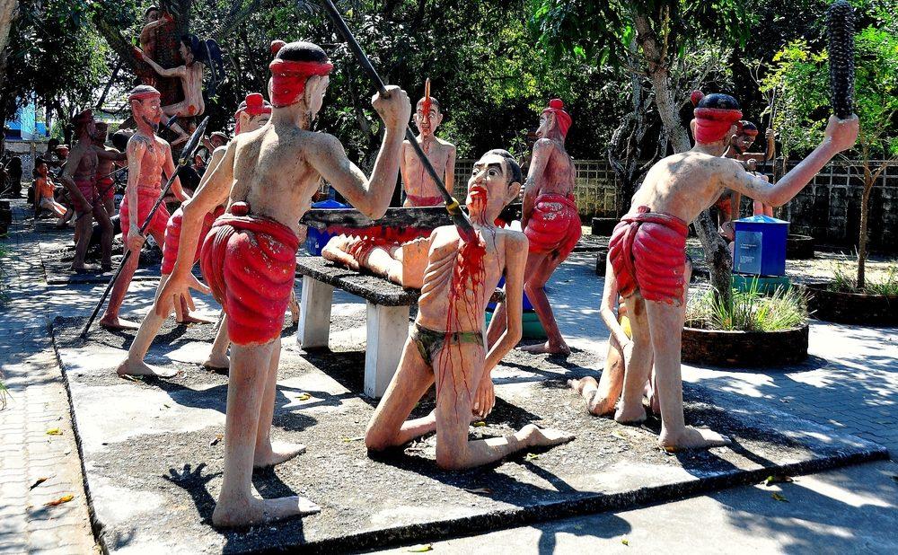 Une attraction touristique bizarre en Thaïlande
