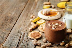 La meilleure recette de smoothie au cacao et beurre d'arachides