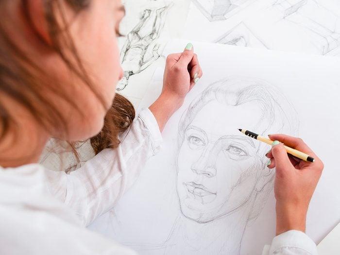 Conseils d'une dessinatrice de portraits-robots, sur la mémoire.
